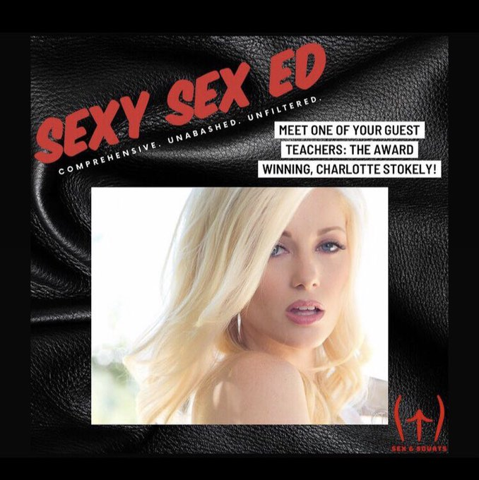 Charlotte Stokely guest teaching for 'Sexy Sex Ed' , a 5 weeks course of sexual education and empowerment