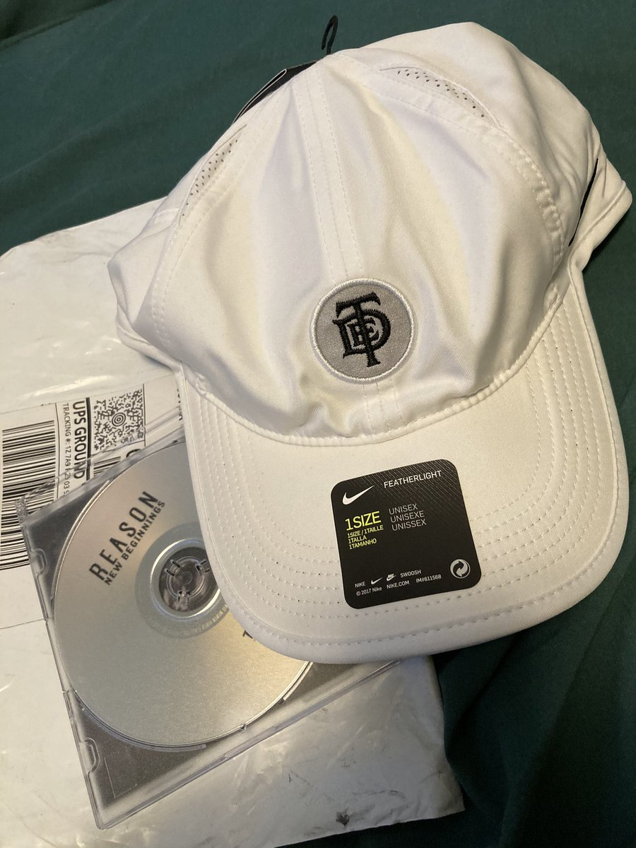 Replying to @cartierknob: Shoutout reason for the cd and the free Nike cap!