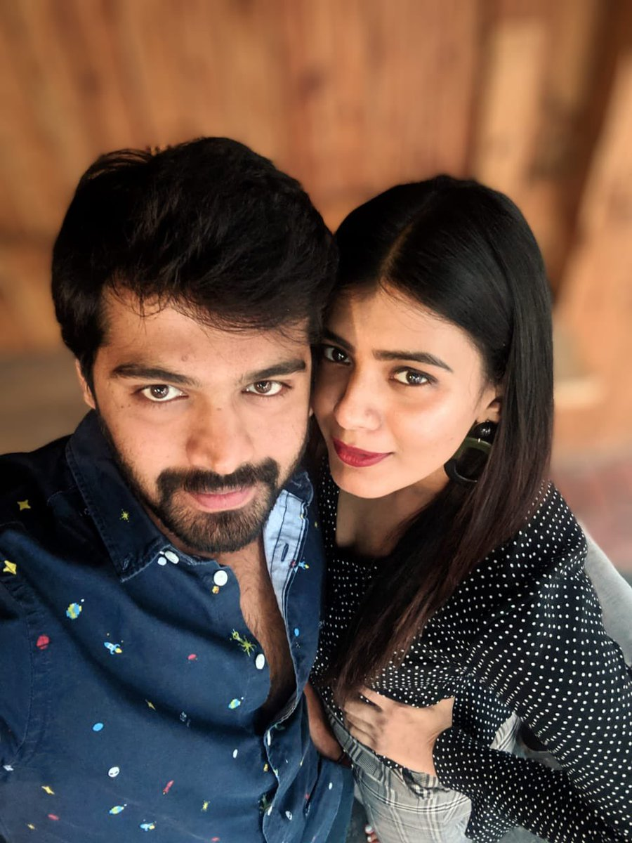 The most sarcastic realist I've ever met. Happy birthday Srilakshmi #hebahpatel Wish you an amazing birthday and year ahead.   Hopefully you'll get to see us paired again in #2021   #HBDHebahPatel
