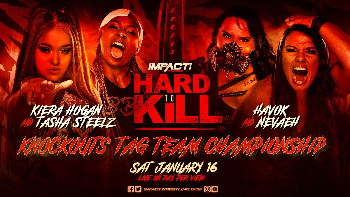 """Four Matches Added To Impact's """"Hard To Kill"""" Event"""