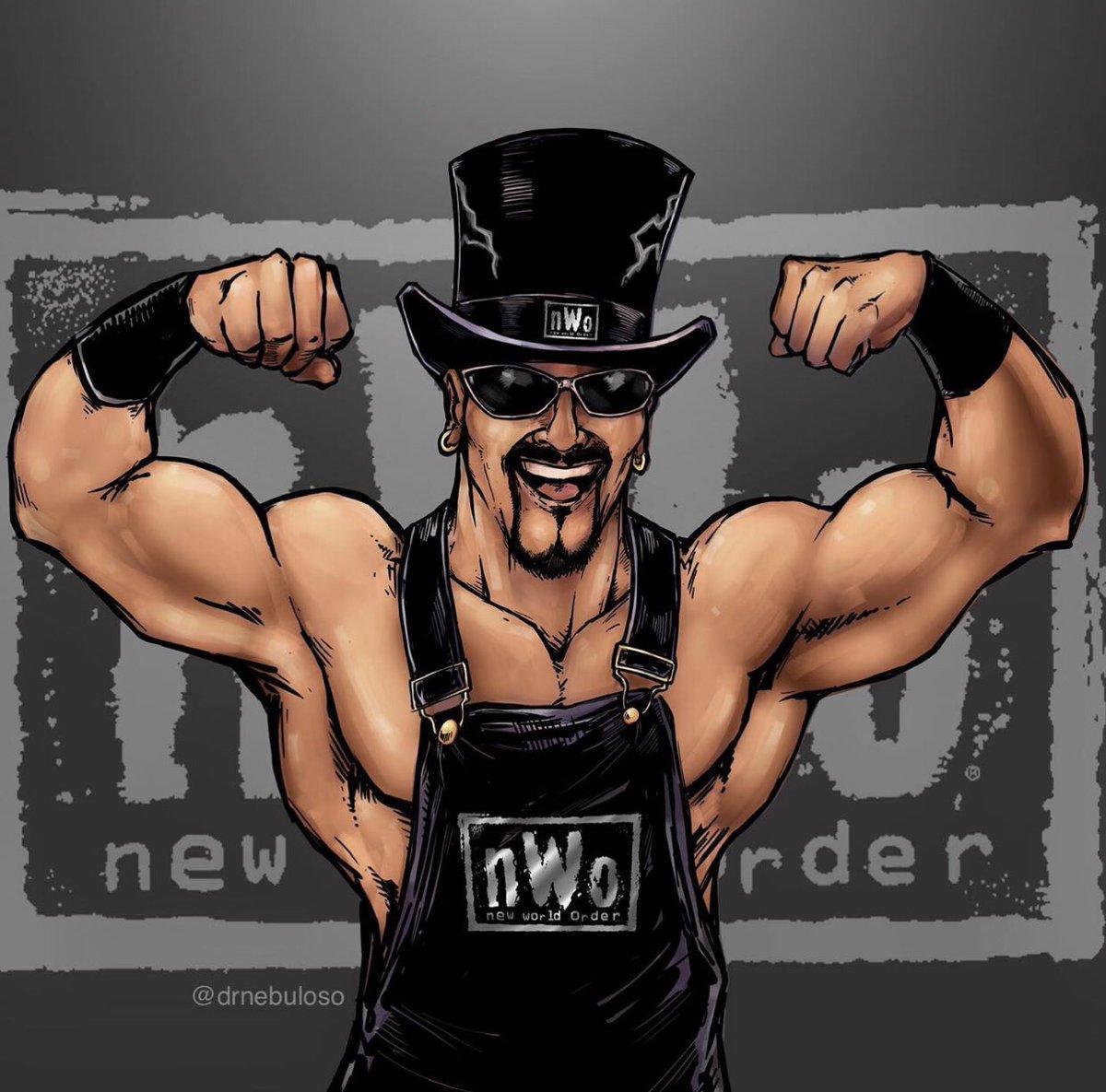 """I'm Buff, and I'm the stuff"" -Marcus Buff Bagwell @REALbuffbagwell   #nwo #wrestling #nwobirthday #wcw #wwe #buffbagwell #marcusbagwell #wrestlingfanart #prowrestling #90s #nwohistory #hulkhogan #scotthall #kevinnash #mondaynightwars #mondaynitro #newworldorder #4life #nwo4life"