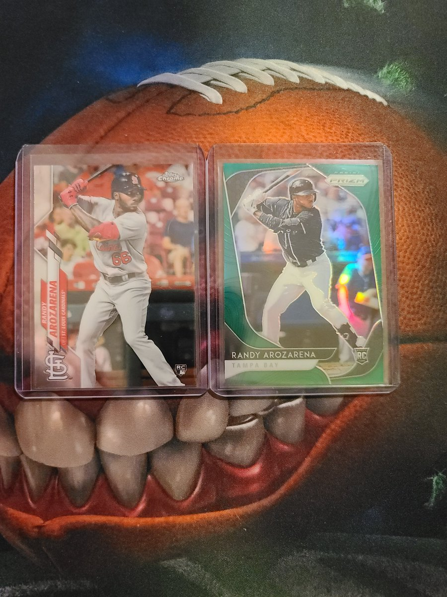 RT @element8504: Two card Randy Arozarena lot. $20 shipped bmwt @HobbyConnector @Hobby_Connect @sports_sell https://t.co/LiMMMWFYhM
