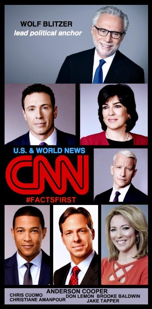 Check out CNN on Twitter. Breaking news from around the world, plus #politics business, style, travel, sport and entertainment. We #gothere, We #goeverywhere @CNN @CNNI @CNNSitRoom @CNNnewsroom