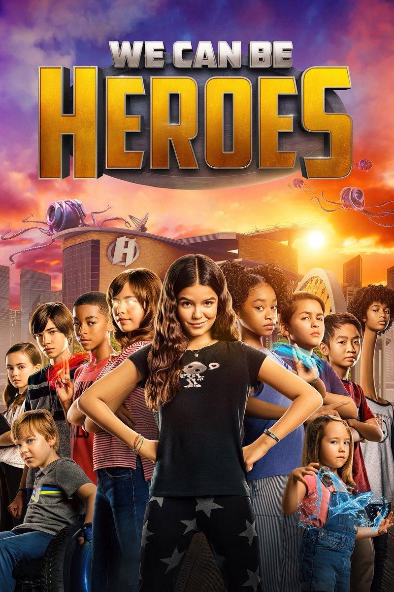 Was watching We Can Be Heroes. This was fun.  #WeCanBeHeroes #RobertRodriguez #PriyankaChopraJonas #PedroPascal #YaYaGosselin #BoydHolbrook #AdrianaBarraza #SungKang #TaylorDooley #ChristianSlater