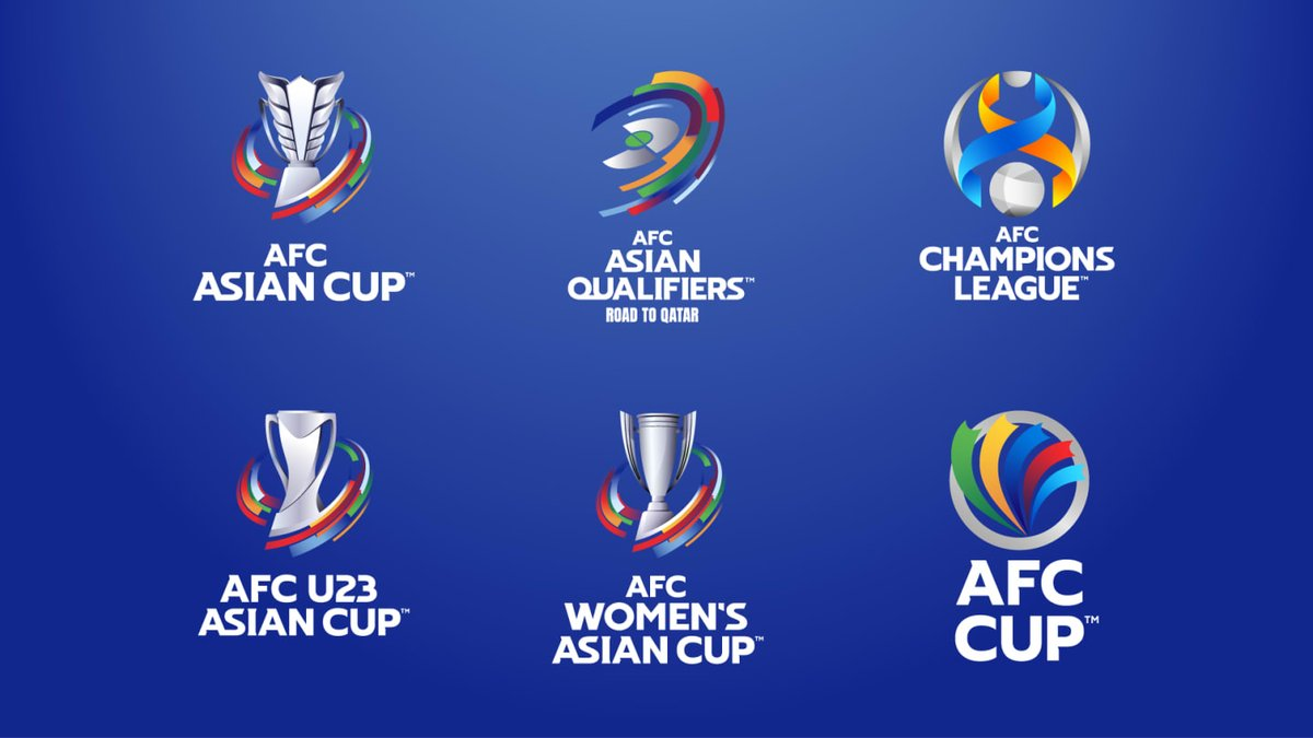 The Asian Football Confederation (AFC) Rebrands Major National Team and Club Competitions    #TheAFC #AFC #ACL2021 #ACL #AFCCup2021 #AsianCup #AsianCup2023 #WCQ #WorldCup