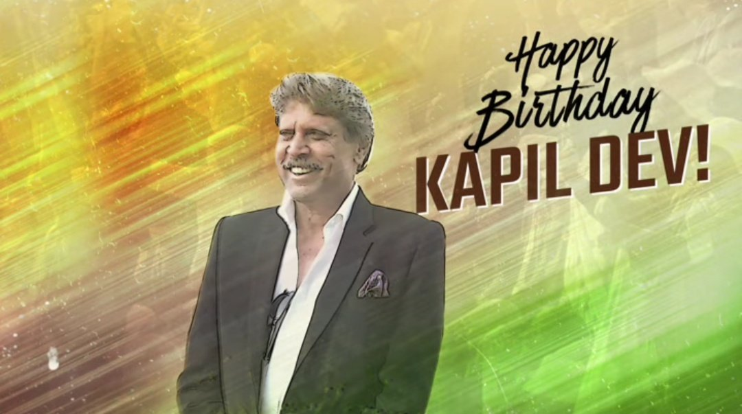 Happy birthday to the legend @therealkapildev sir🥳 Have a great year ahead! A legend for an entire generation! A hero of our country! Wishes behalf on all @JiivaOfficial Fans #Thisis83 #HappyBirthdayKapilDev