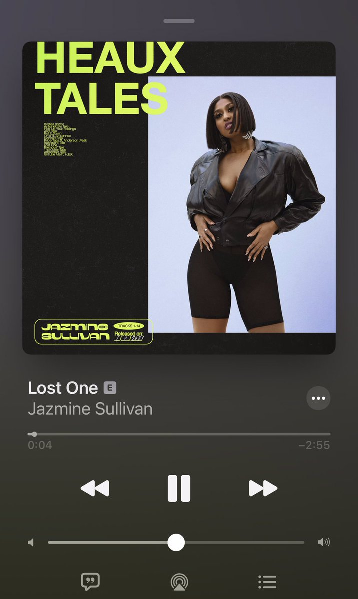 Jazmine Sullivan hit 3 out of 3 for me with these singles! I'm ready for the release on Friday! #HeauxTales