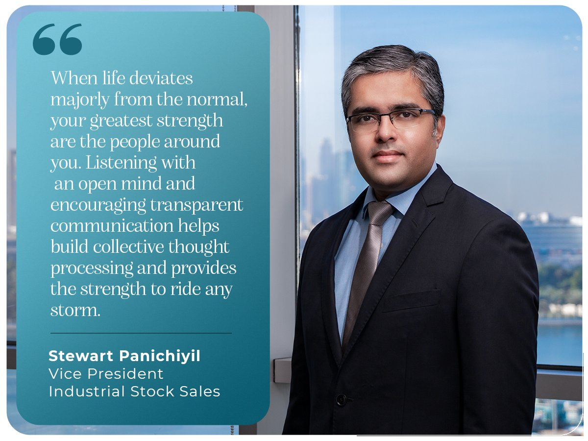 Having stepped into the new year, do you have any #insights & #reflections to share from 2020? Our senior management certainly does, Stewart Skariah, VP - Industrial Stock Sales division shares his pandemic inspired learnings. #strategyandtransformation #iamscientechnic https://t.co/JNWiUcVSEQ
