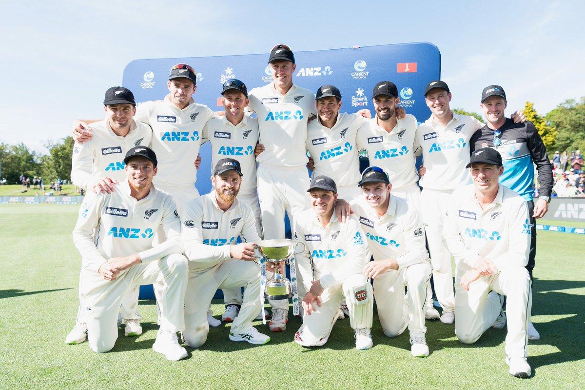 #NZvPAK Test Series Winners🏆 New Zealand 🇳🇿 NZ 2️⃣ : 0️⃣ 🇵🇰 PAK  🏆Player of the Series Kane Williamson 3️⃣8️⃣8️⃣Runs & 1️⃣Wicket   #NZvsPAK | #AUSvIND | #BANvWI  #SAvENG | #HBLPSLDraft | #WTC21 #BBL10 | #Cricket | #PSL2021