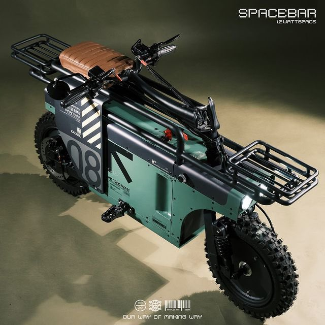 """インドネシアのKatalisが折り畳み電動バイク""""SPACEBAR""""を発表。 こ、これは…! gastankmagazine.com/content/detail…"""