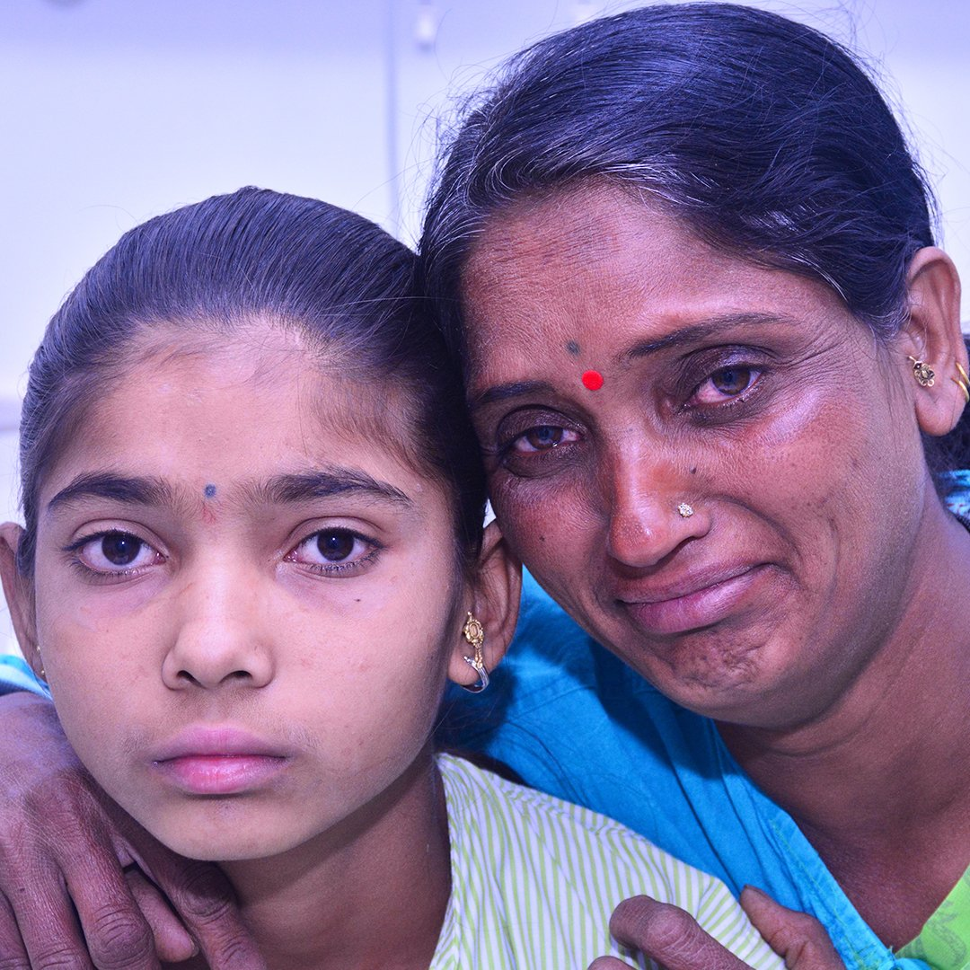 """My 13-yo daughter is dying from heart disease. I watch helplessly as she spends sleepless nights gasping for air & watching her favourite TV show 'Saath Nibhaana Saathiya' is the only thing that brings her some solace.""  Please help her here:"