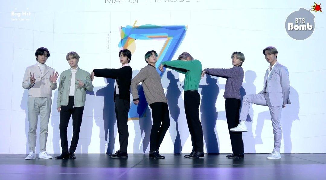 [BANGTAN BOMB] 7 Different Poses for 7 - BTS (방탄소년단) 📸 ()  #방탄밤 #포토월_촬영의_순간 #7인7색_7포즈 #방탄소년단 #MOTS #ON