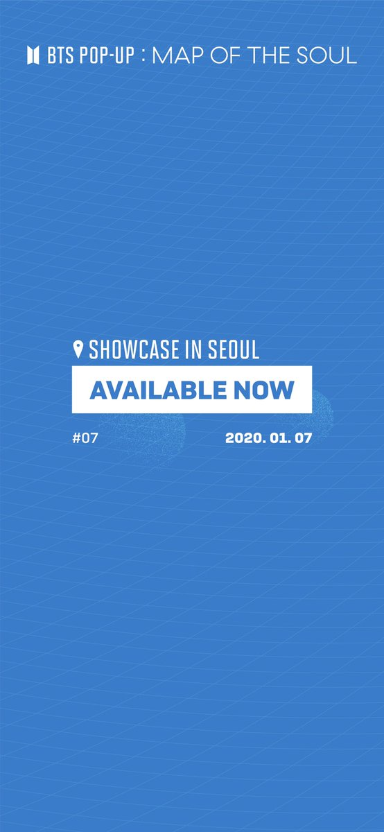 [BTS POP-UP : MAP OF THE SOUL Showcase in SEOUL]    NEW ARRIVAL #7   방탄소년단 팝업 쇼케이스 7회차 판매 상품 안내 Information on the products for the 7th Session of BTS POP-UP Showcase    2021.1.7 11AM(KST)  #BTS_POPUP #MAP_OF_THE_SOUL