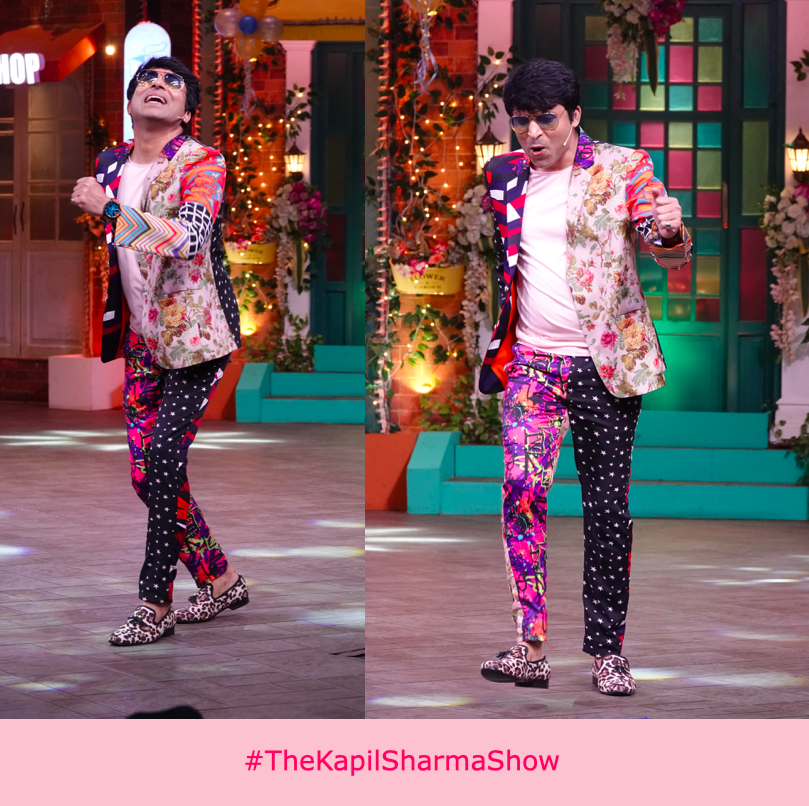 No one emulates  #FashionableFridays better than @haanjichandan #TheKapilSharmaShow #WeAreBanijay