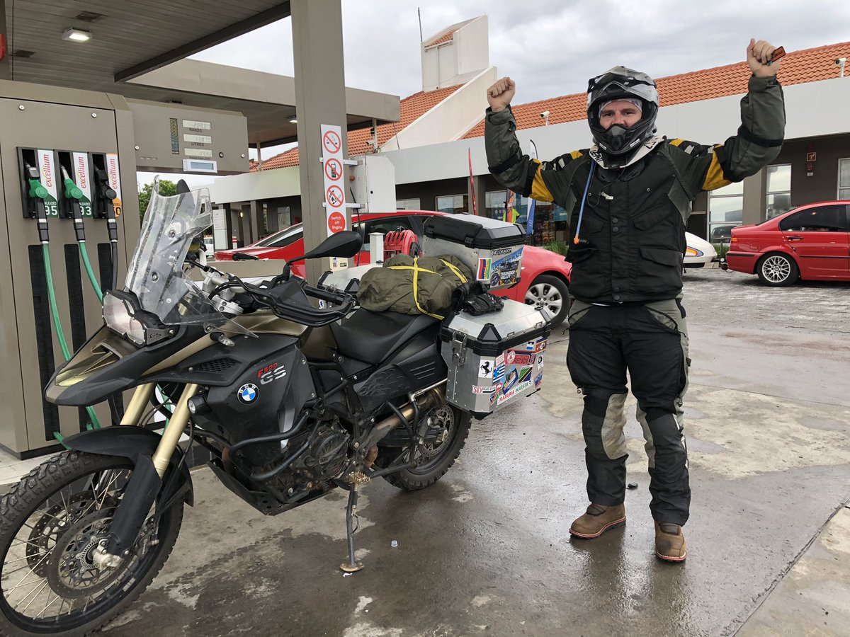 Had an epic 4 day(30 hours of riding) journey to Cape Town and back on my @BMWMotorradSA 800gs - it rained for about 5 of the 30 hours. The next trip I'm doing on gravel to Cape Town. https://t.co/JwjUS79xVR
