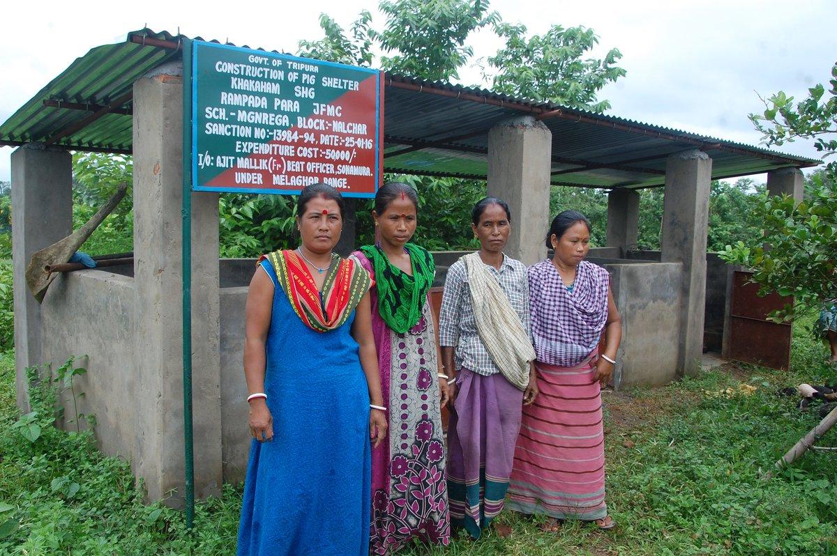 The self dependent ladies and their ATM, (Piggery) #SHG #womenempowerment https://t.co/FzBAuZ9tgS