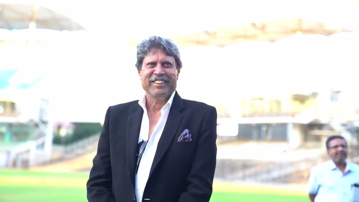 Colossus of a Captain! Gem of a person! Thank you Sir for embracing us and allowing us to tell your extraordinary story! Here's wishing the OG @therealkapildev good health and joy on his special day! #ThisIs83 #HappyBirthdayKapilDev