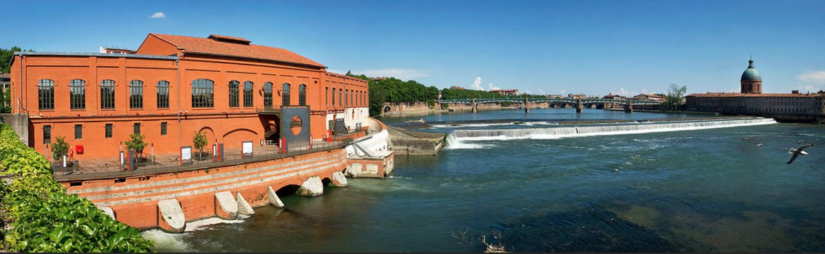 [Did you know?] 🎨 🔌 The @EDFBazacle is a free cultural space and a hydro-electrical plant still in operation today! A must when in #Toulouse for it's exhibitions and outstanding view over the Garonne!  #visiteztoulouse #traveltuesday  © EDF Bazacle https://t.co/IXh8deeoTq