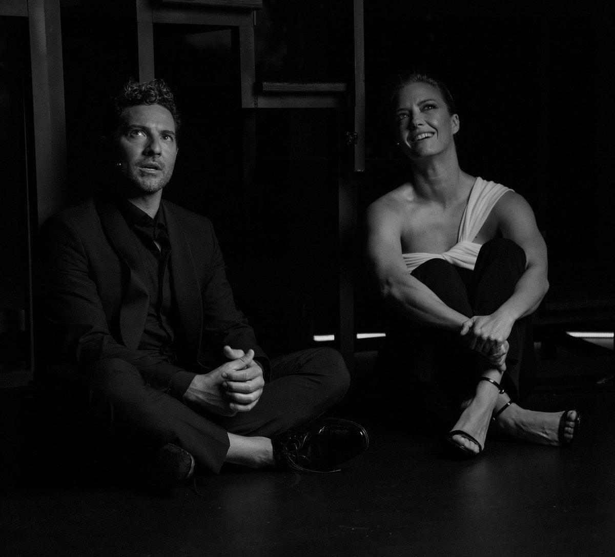 """""""Escena en Blanco & Negro"""" en @primevideoes con @davidbisbal #BehindTheScenes #Málaga #Capítulo2 #💫"""