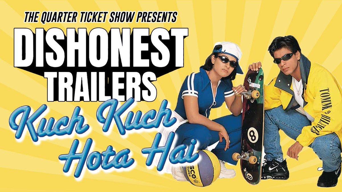 @saroooliciious @RanveerOfficial @therealkapildev If kuch kuch hota hai was a sports movie  Kuch kuch hota hai - a dishonest trailer
