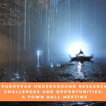 Image for the Tweet beginning: #EGU21 #Invitation European Underground Research Challenges