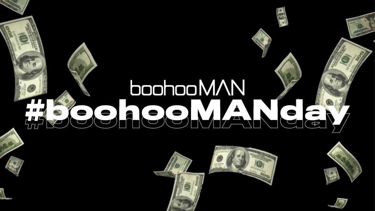 Let's make the first Hump Day of 2021 one to remember. 🤑  🤑💰 12:00 GIVEAWAY 🤑💰  We're giving away a £100 boohooMAN voucher EVERY HOUR until 6pm GMT.  ⏰ Set your alarms.  WANT TO #WIN ? TO ENTER:  🤑 Retweet This Tweet 🤑 Reply with #boohooMANday  Let the games begin! 👇