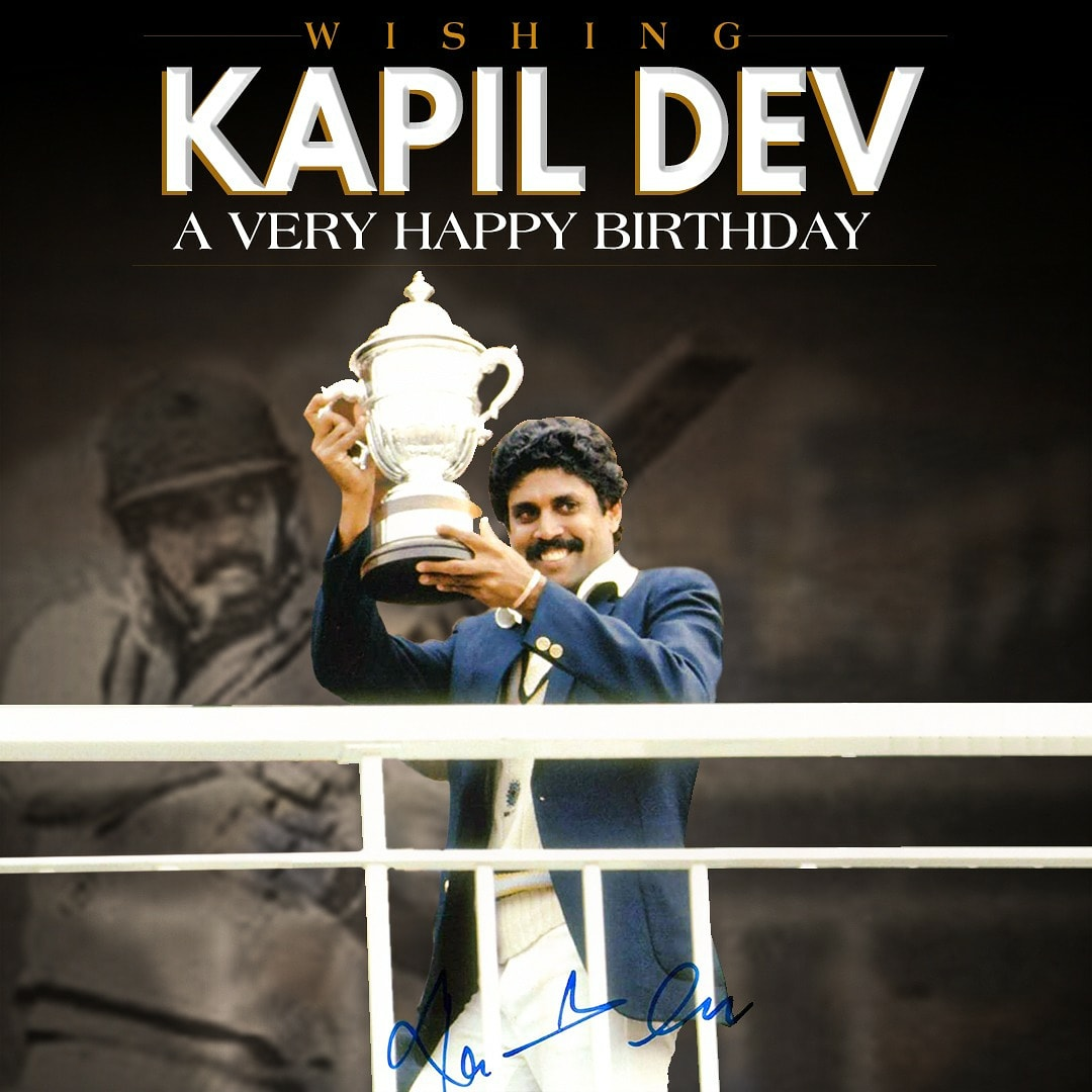Wishing the legendary @therealkapildev a very happy birthday! 😍❤️ @83thefilm #83TheFilm #kapildev #happybirthdaykapildev #KapilsDevils #thisis83