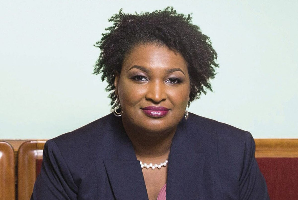 Stacey Abrams (🙏🏾) is the whole truth. I'm so proud of her and Georgia. Thank you.  #BlueWave