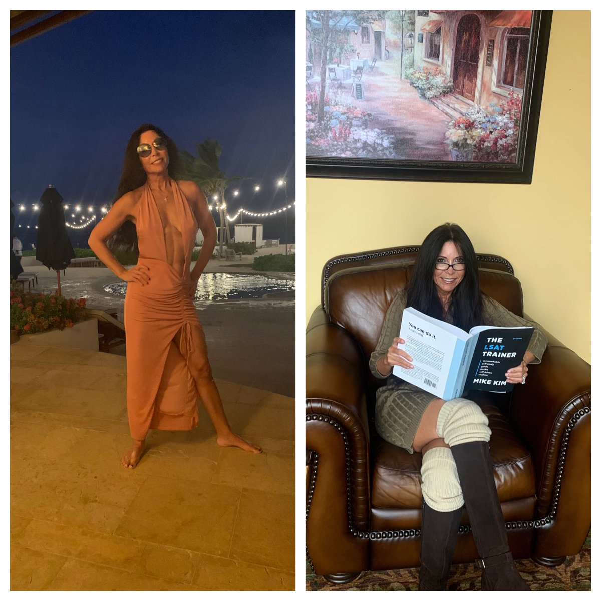 My Hot Momma By Night, Studying For The LSAT By Day!👩🏻‍🎓
