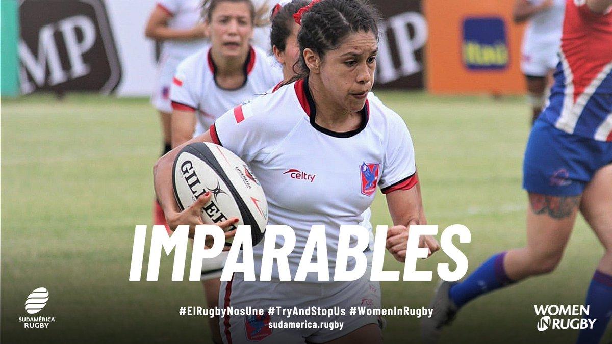 El Rugby femenino es imparable 🔝 .  Primera regla: inténtalo ✅ Segunda regla: inténtalo de nuevo ✅  INTENTA DETENERNOS. VEN AL RUGBY 💪. CONVIÉRTETE EN IMPARABLE ⚡️.  #ElRugbyNosUne #TryAndStopUs #WomenInRugby https://t.co/V6R14ttJsJ