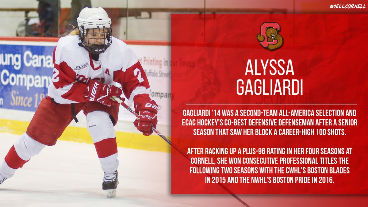 WIH: Check out these fantastic facts about @CornellWHockey alum Alyssa Gagliardi '14. Click the link below to read this week's alumni spotlight story! #YellCornell   READ MORE: https://t.co/MeWM8cphy6 https://t.co/Y3B9ALSe82