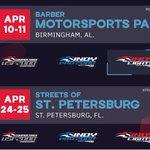 Image for the Tweet beginning: SERIES NEWS: Barber Motorsports Park