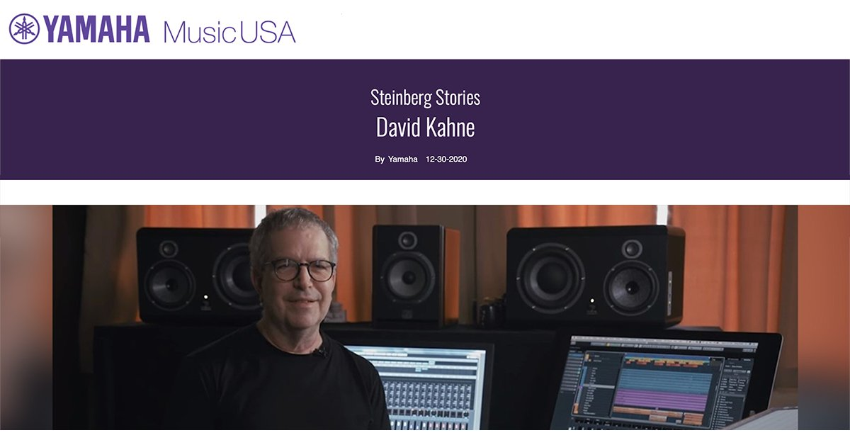 Producer, musician and composer David Kahne (Paul McCartney, Bruce Springsteen, Billy Joel) uses Steinberg's Cubase and Nuendo to compose and mix some of today's top artists. Follow the link below to hear more. #Cubase #Nuendo #Steinberg #yamahaproaudio   https://t.co/ev1N3Tmmja https://t.co/18dkKO5buf
