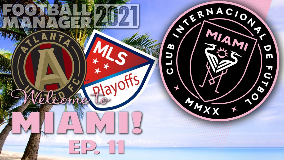 Forgot to send this one out yesterday, but the #mlscupplayoffs begin for @InterMiamiCF  in #FM21 !    #smallyoutuber #smallyoutubercommunity #SmallYouTuberArmy @SGH_RTs @Quickest_Rts @RtShredder @FlyRts @YTHH2018 @sme_rt