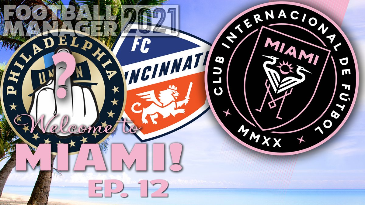 And the march goes on!  @InterMiamiCF continues its run in the #mlscupplayoffs in #FM21 !  How far can we take this?    #smallyoutuber #smallyoutubercommunity #SmallYouTuberArmy @SGH_RTs @Quickest_Rts @RtShredder @FlyRts @YTHH2018 @sme_rt