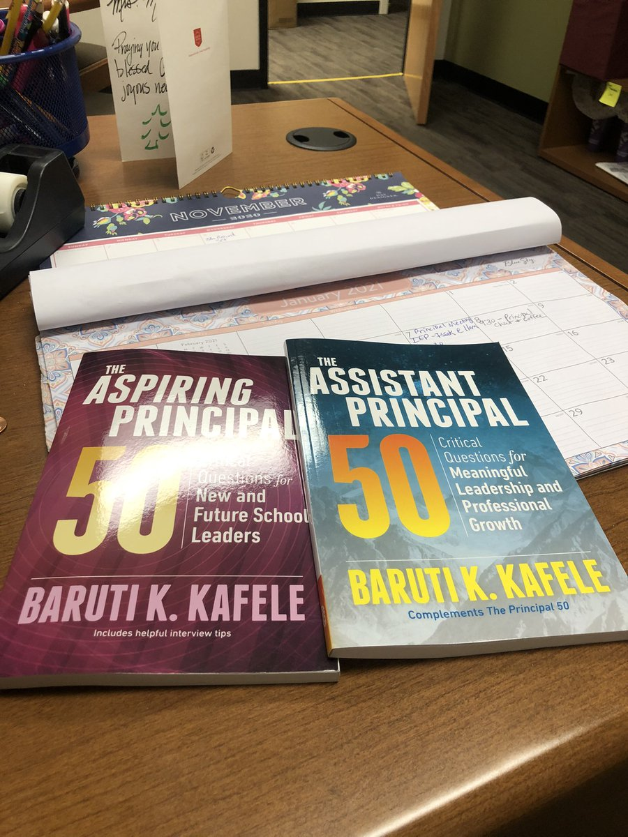 Looking forward to reading and learning. @PrincipalKafele