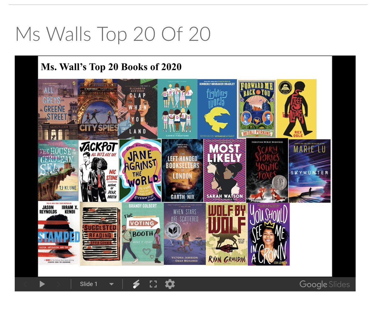 New year, new favorites! Check canvas for the library team's favorites of 2020 and other suggestions! <a target='_blank' href='http://twitter.com/JeffersonIBMYP'>@JeffersonIBMYP</a> <a target='_blank' href='http://twitter.com/APSVirginia'>@APSVirginia</a> <a target='_blank' href='http://twitter.com/APSLibrarians'>@APSLibrarians</a> <a target='_blank' href='http://search.twitter.com/search?q=topbooks2020'><a target='_blank' href='https://twitter.com/hashtag/topbooks2020?src=hash'>#topbooks2020</a></a> <a target='_blank' href='https://t.co/zhr75Yunor'>https://t.co/zhr75Yunor</a>