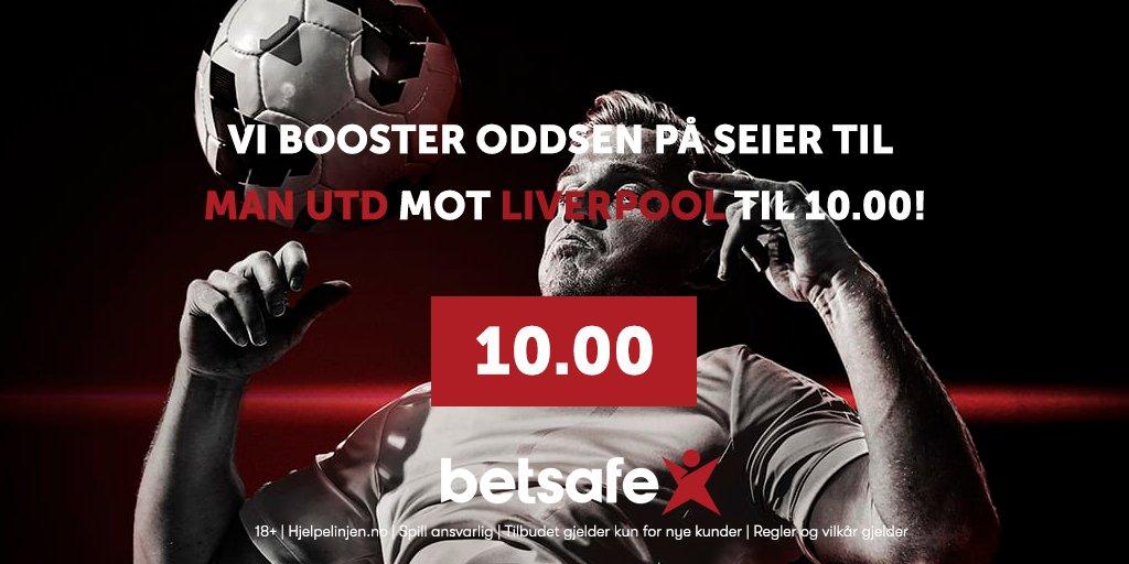 🚨 ODDSBOOST på hele 10.00 på seier til Man Utd mot Liverpool på søndag!   I tillegg får du gratisspill verdt 250kr– helt til du vinner!  💥KONK🥳 RT + følg oss. Vi trekker 2 som får fotballdrakt  Tilbudet er kun til nye spillere, og du finner det her👉 https://t.co/zIJnPuY3CK https://t.co/qm9CWOaKd8
