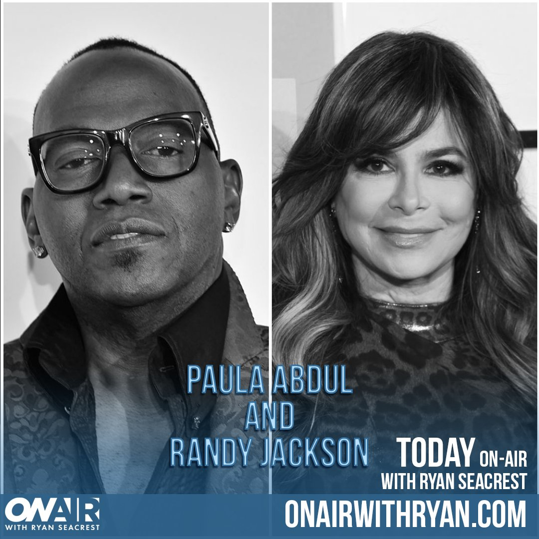 #RandyJackson and #PaulaAbdul are reuniting with @RyanSeacrest on-air today! ⏰ Don't miss it!