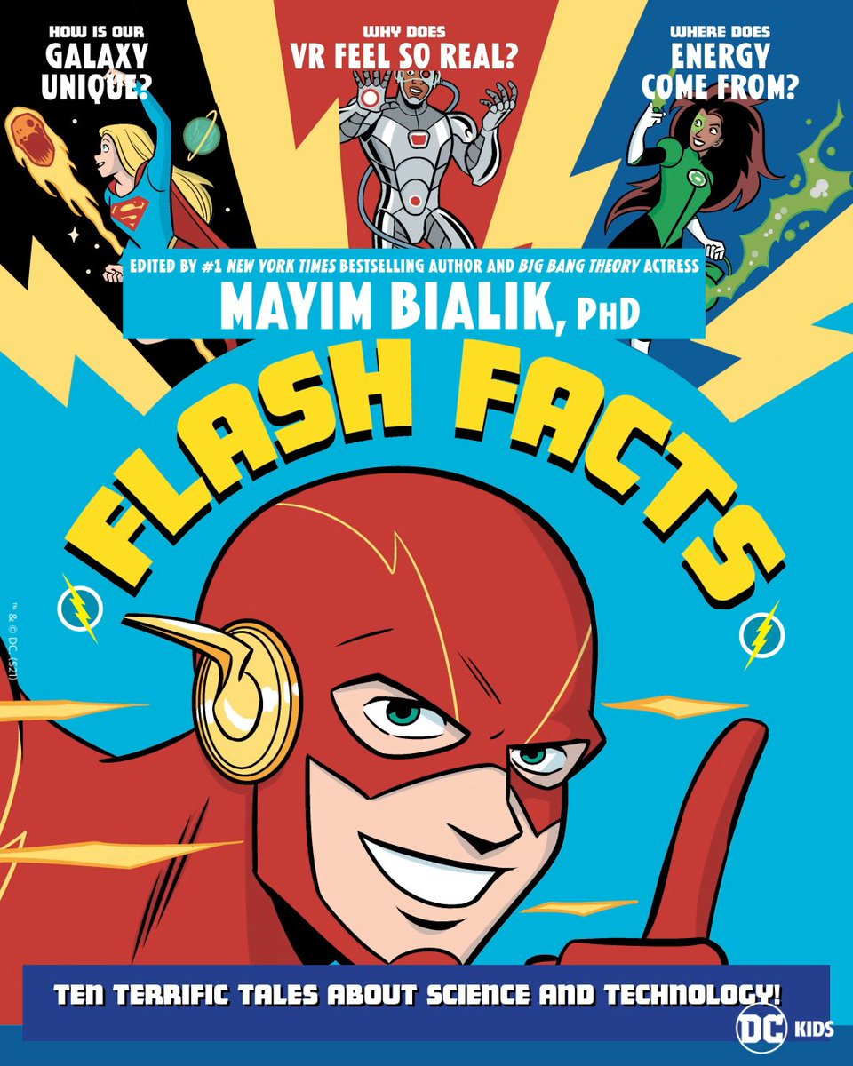 The DC Multiverse is about to drop some knowledge! 🧬  Get ready for scientific short stories from talented writers and artists in FLASH FACTS, out February 2! Edited by @missmayim 🖋 #DCFlashFacts