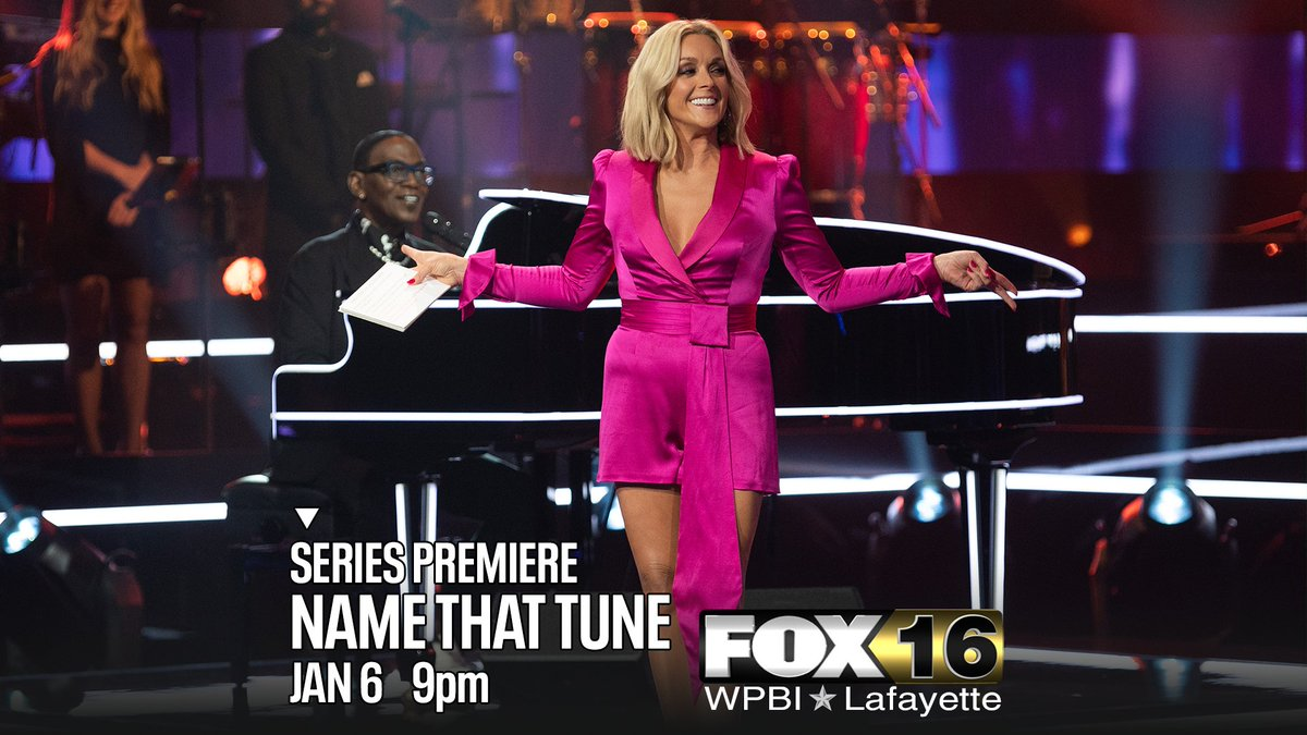 An iconic musical guessing game is back.  #NameThatTune with #JaneKrakowski and #RandyJackson -- tonight at 9 on WPBI FOX16.