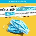 Image for the Tweet beginning: 💣 Opération Déstockage 💣  Du 06