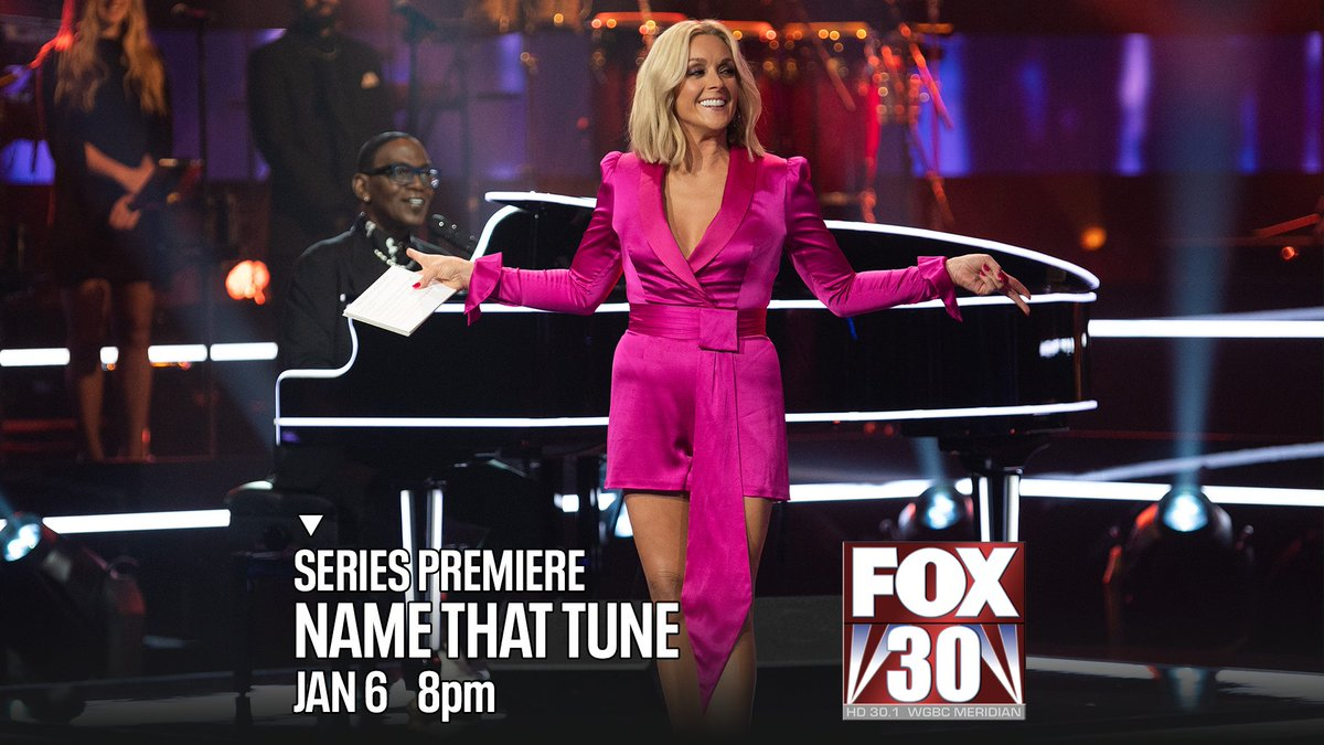 An iconic musical guessing game is back.  #NameThatTune with #JaneKrakowski and #RandyJackson -- tonight at 8 on FOX30 WGBC.