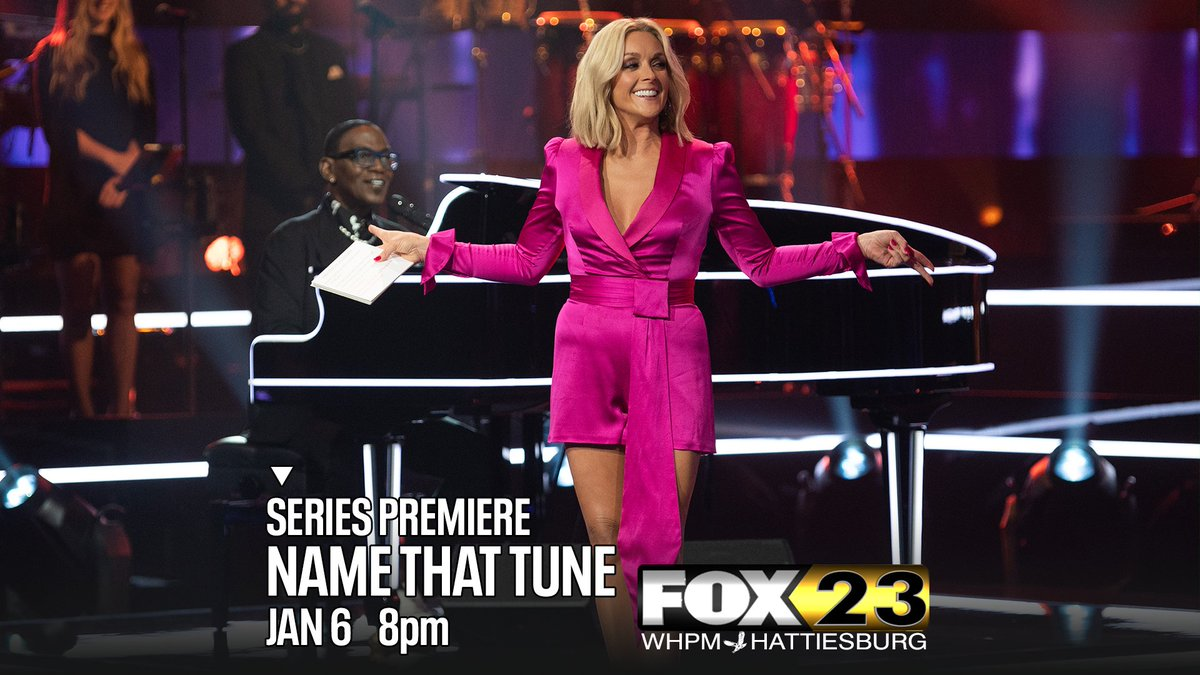 An iconic musical guessing game is back.  #NameThatTune with #JaneKrakowski and #RandyJackson -- tonight at 8 on #MyFOX23 WHPM.