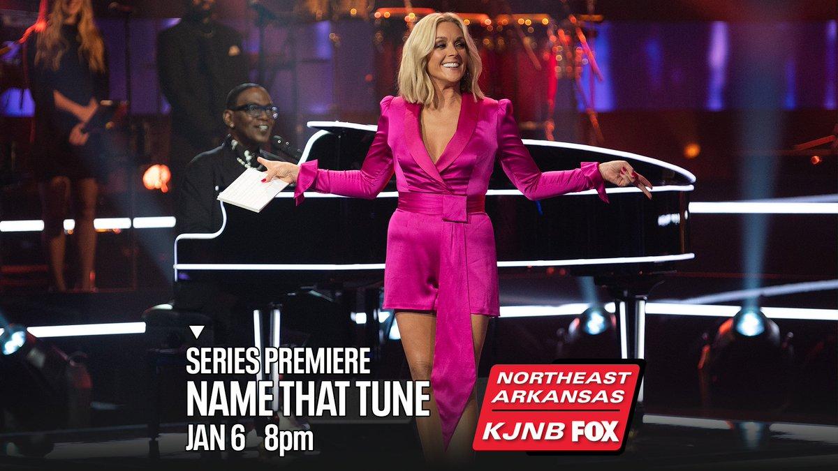 An iconic musical guessing game is back.  #NameThatTune with #JaneKrakowski and #RandyJackson -- tonight at 8 on KJNB Northeast Arkansas FOX.