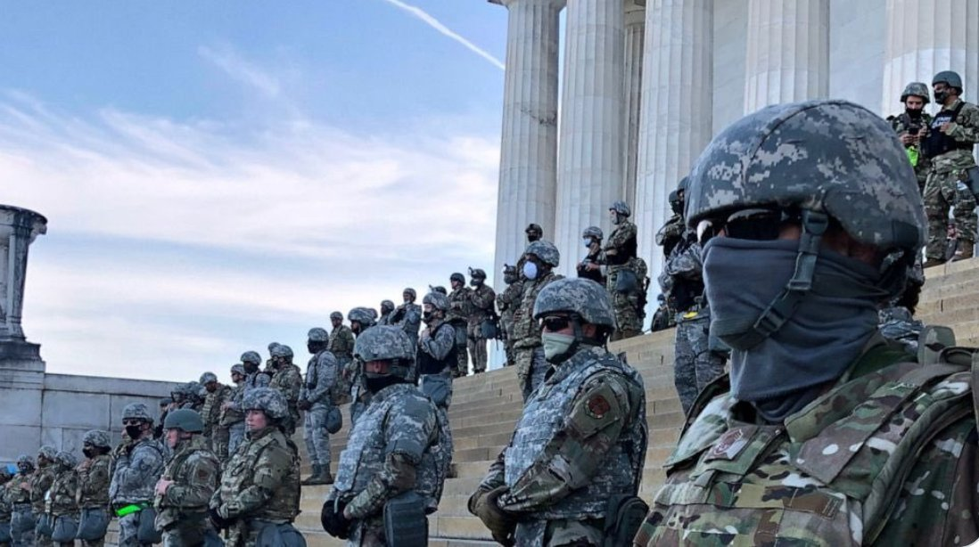 """Patricia Smith on Twitter: """"The Capitol steps during the BLM protests.… """""""