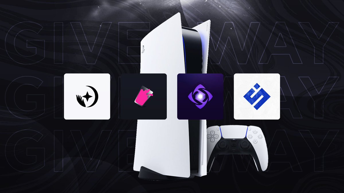 Back to Back Giveaways 🥳  Prize: 🎁1x PlayStation 5 Disc Edition (#PS5)  To Enter: ✅Follow @spieltimes, @purplapps, @saintproxy, and @juicedgroup. ✅Like and Retweet📨  🏆Winner will be announced in 48 hours!  ✌️Good luck!