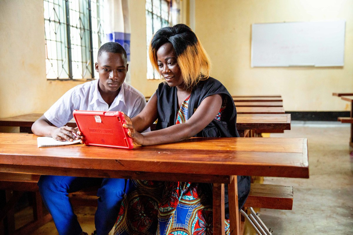 Education is not only a right; it is one of the most valuable assets a #refugee can have.  Our #InstantNetworkSchools programme with @refugees aims to connect 500,000 refugee students and their communities to a quality digital education by 2025.  More: