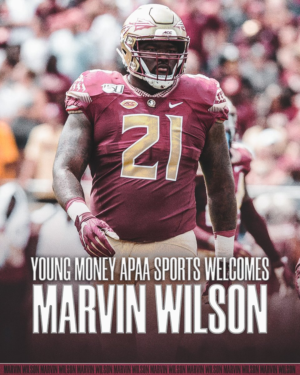 Welcome to the FAMILY!, @marvinwilson21   As he would say, it's #HunchoHours 🙏🏽  #YMAPAA