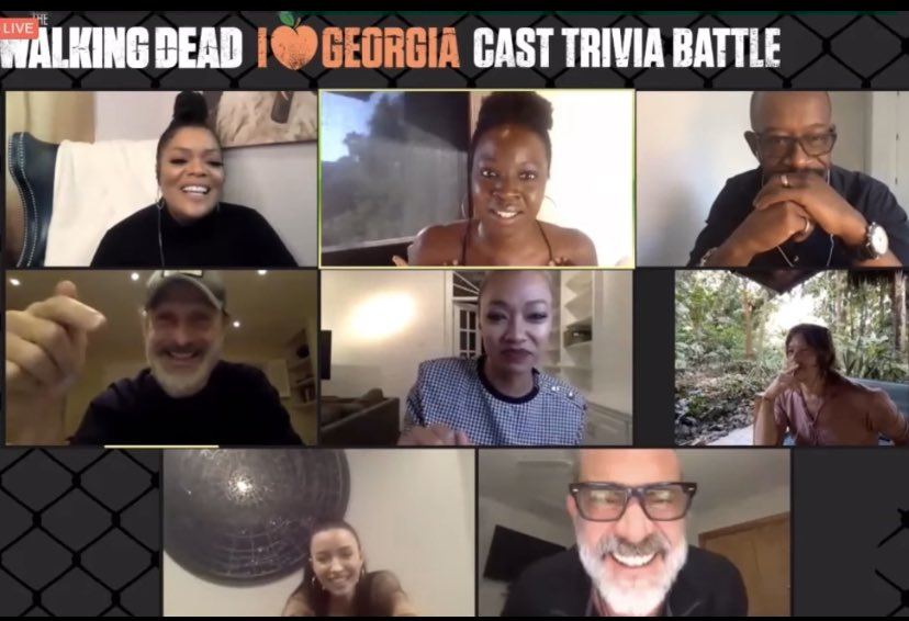 Thank you @DanaiGurira for getting #TWD past/present casts together & the TWD king himself your TV husband #RickGrimes #AndrewLincoln for a great cause in a fun way, never backing down about your political beliefs & the importance of voting #MichonneGrimes #Richonne #TWDreunion